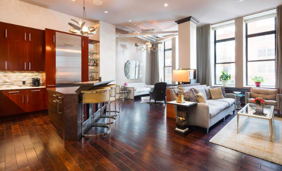Shepard smith lists nyc condo celebrity house pictures for Condo for sale nyc