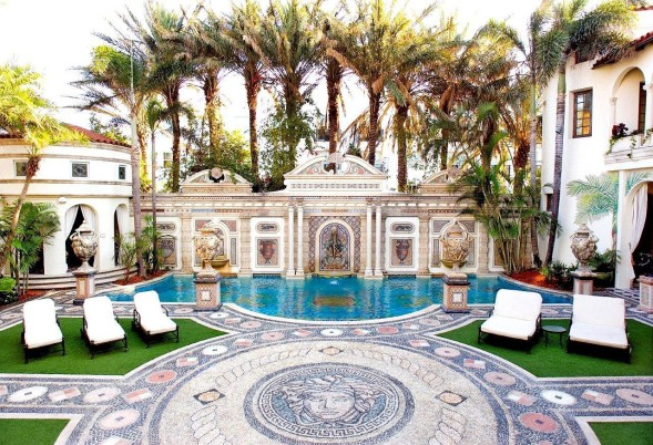 Versace Mansion South Beach Miami for Sale (Bankruptcy Auction ...